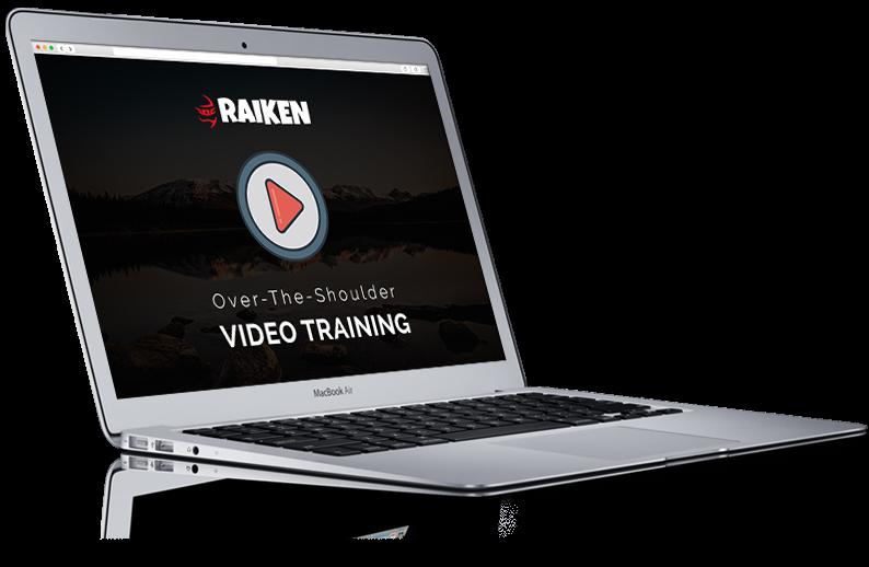 Raiken Video Training Course